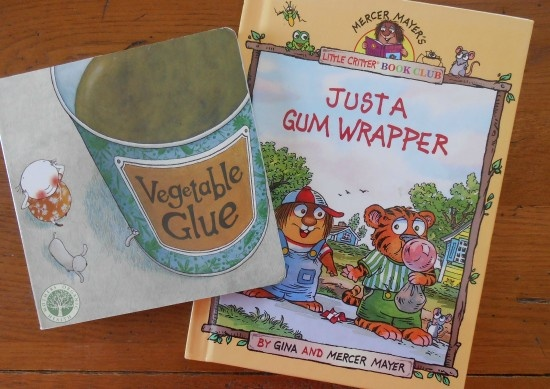 7 Kids Books About Earth Day, Recycling, and Healthy Eating #earthday #green #eco #kids #books