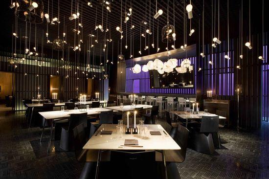 Modern Asian Restaurant Architecture & Interior Design