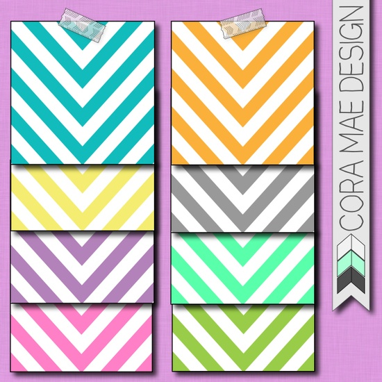 free chevron digital papers & iphone wallpapers