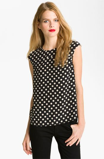 New Markdown: kate spade new york 'fran' silk blouse #Nordstrom #NSale