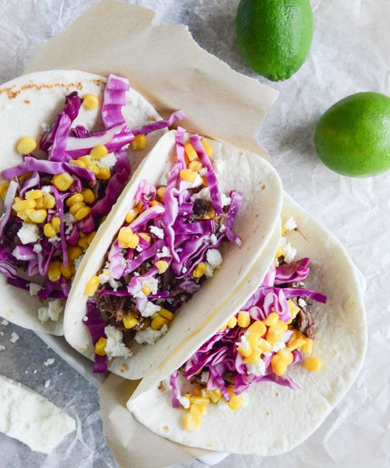 crockpot brisket tacos