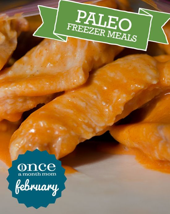 Paleo February 2013 Freezer Meals