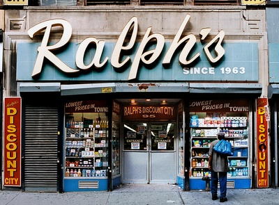 Ralph's from Store Front - The Disappearing Face of New York, by James and Karla Murray (Gingko Press)