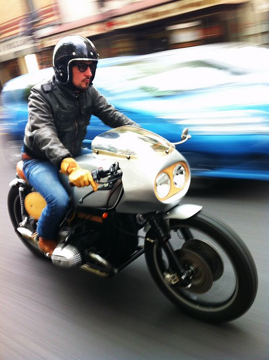 Cafe racer cracks it with panache