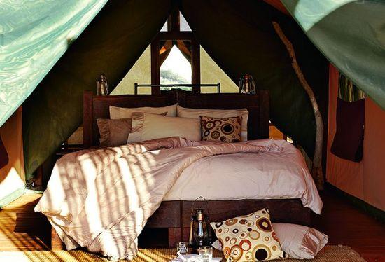 tents at Ningaloo Reef, Australia - bedroom