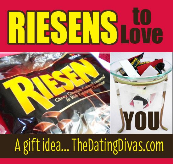 A quick and easy way to show your spouse all the Riesens why you love them! All you need is a bag of Riesen chocolate candies and the #FREE #printable. www.TheDatingDiva... #valentines #anniversary #romance