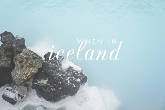 When in #Iceland