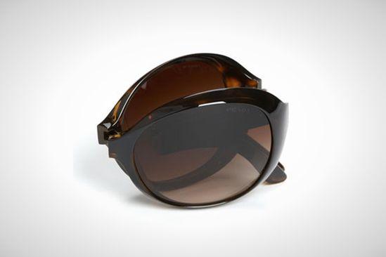 Prada Oversized Folding Sunglasses