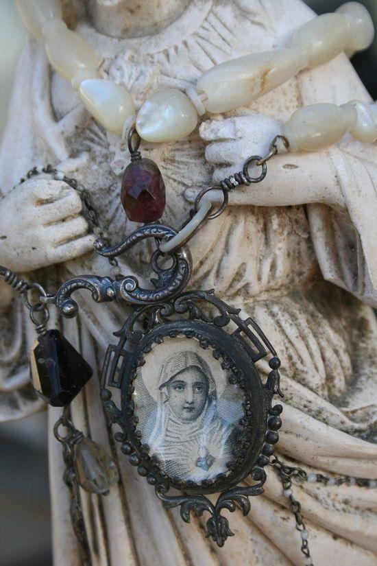 vintage religious icons