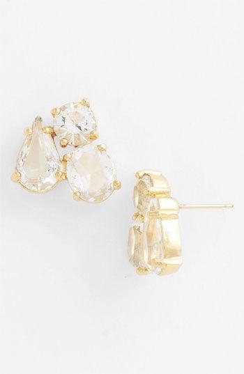 kate spade new york 'fragment' cluster stud earrings