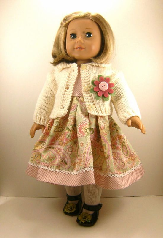 18 Inch Doll Clothes American Girl Winter White by dressurdolly2,