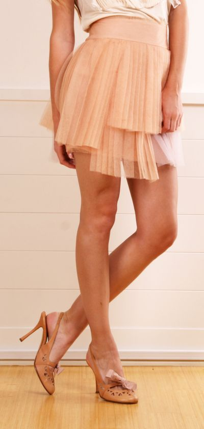 CHANEL SKIRT in blush pink... MUST HAVE IT!