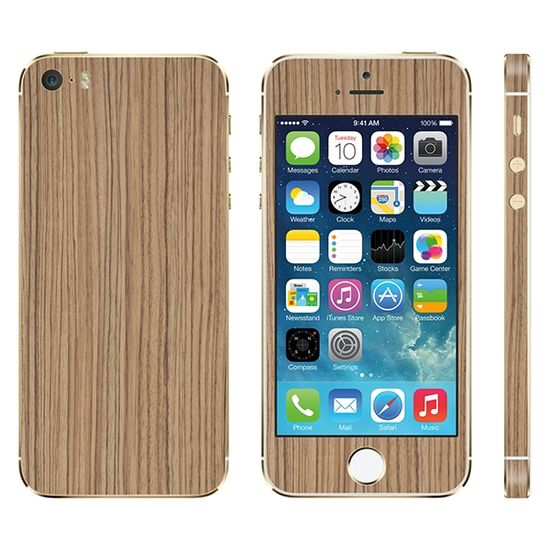Zebra Wood iPhone cover from Slickwraps.