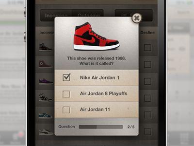 MyKicks app concept