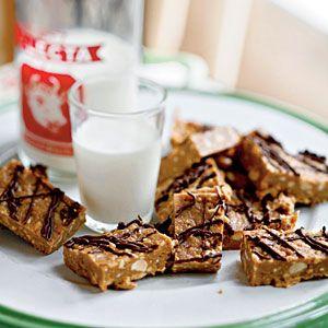 No-bake Peanut Butter Swag Bars