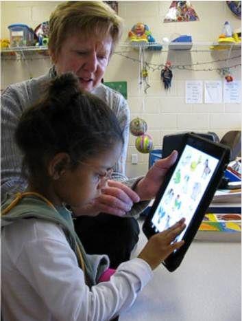 iPad with teaching children with developmental disabilities