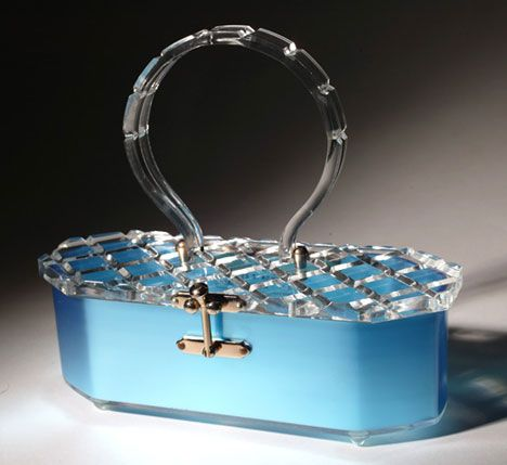 WOW!! Lucite Purse.