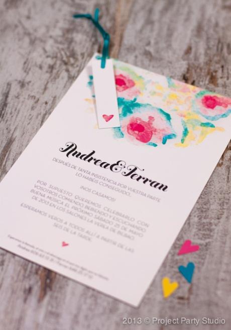 Wedding invitations -- colors