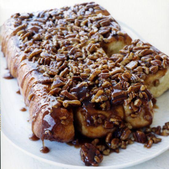 Pecan-Honey Buns // More Breakfast Recipes: www.foodandwine.c... #foodandwine