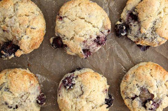 lavender blackberry scones