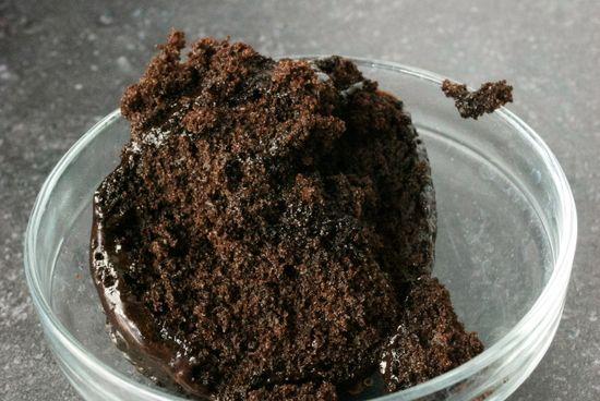 60 Second Chocolate Cake
