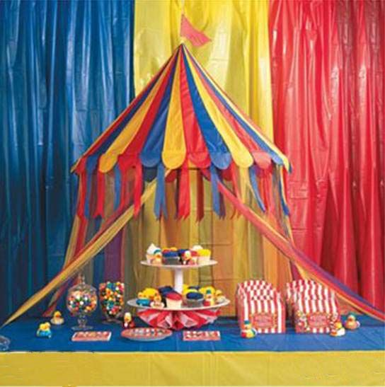 Carnival Decorations - by a Professional Party Planner