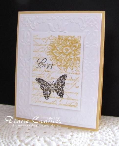 Creative Elements - Stampin' Up - my favorite stamp set!