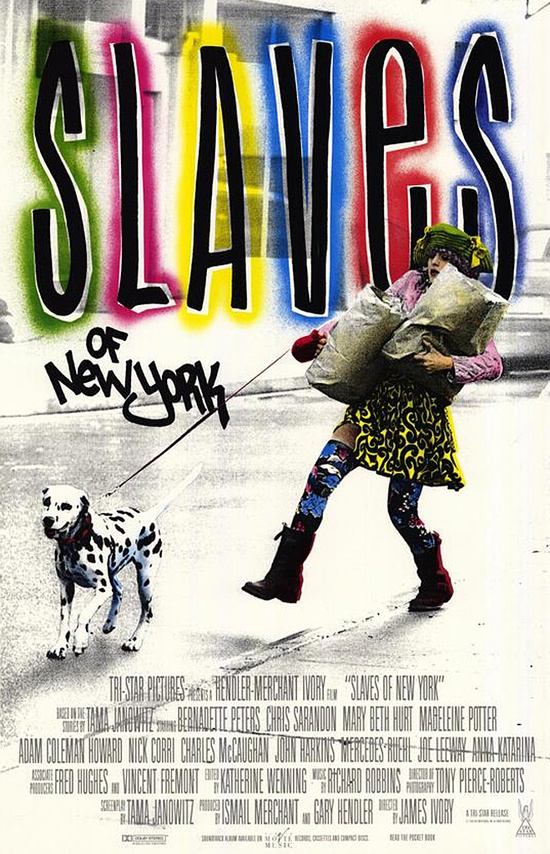 Slaves of New York (1989) starring Bernadette Peters & Chris Sarandon