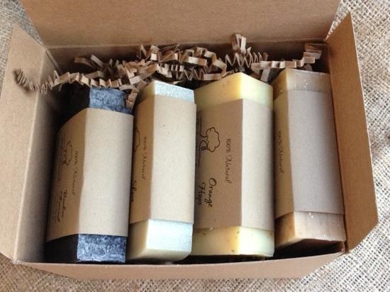 Soap Set for Men - All Natural soap, Shave soap, Detox Charcoal soap, Oatmeal Stout Beer Soap, Orange Hops soap, Gift for Men. $20.00, via Etsy.