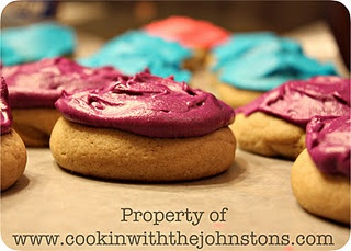 Sugar Cookies  {what's cookin' with the johnstons}