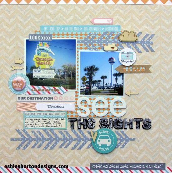 See the Sights - Scrapbook.com