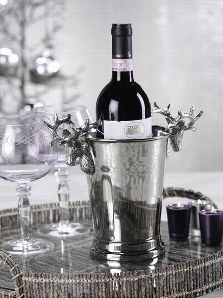 InStyle-Decor.com Beverly Hills Reindeer Wine Cooler Inspiring  Interior Design Fans With Beautiful Home Decor Ideas From Hollywood Enjoy & Happy Pinning