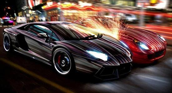 Lamborghini Aventador vs Ferrari 599 GTB