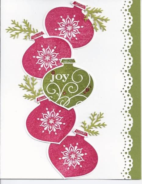 ornament card-need this punch!