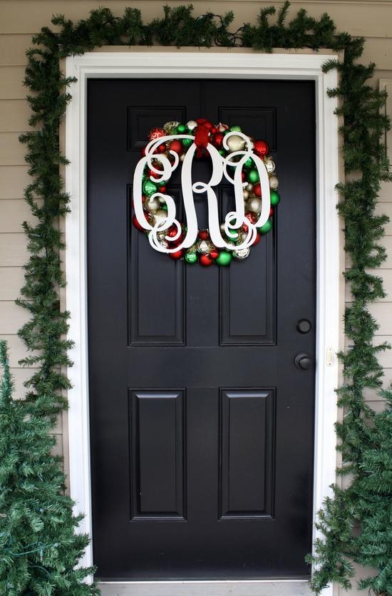 elegant Front Door Wreath
