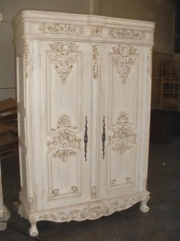 Parisian Double Armoire - Grovesnor reproduction antique furniture