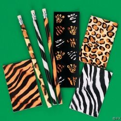 Animal Print Party Favors For Girls