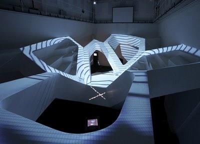 The Theatre of Immanence Interior by UNStudio