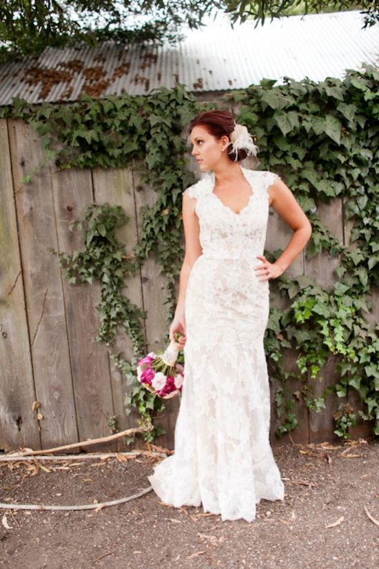 ? the dress - California Country Wedding
