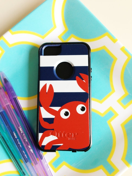 Crab Otterbox iPhone 5 Case by AModernStyle on Etsy, $55.00