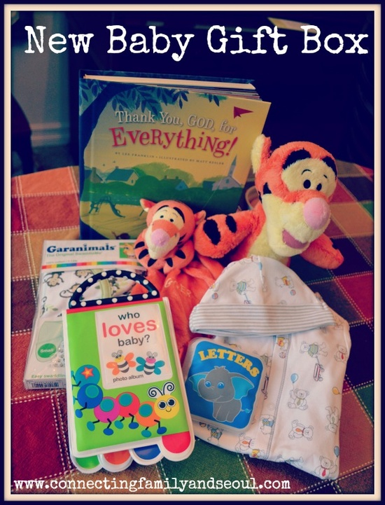 New Baby Gift Box {From Big Brother} from Connecting Family & Seoul