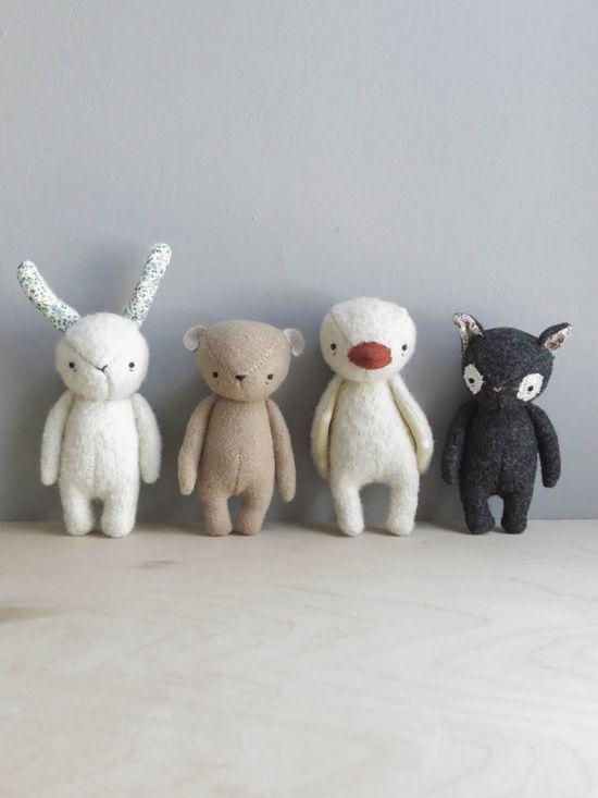 RESERVED / the dear ones bear by ohalbatross on Etsy