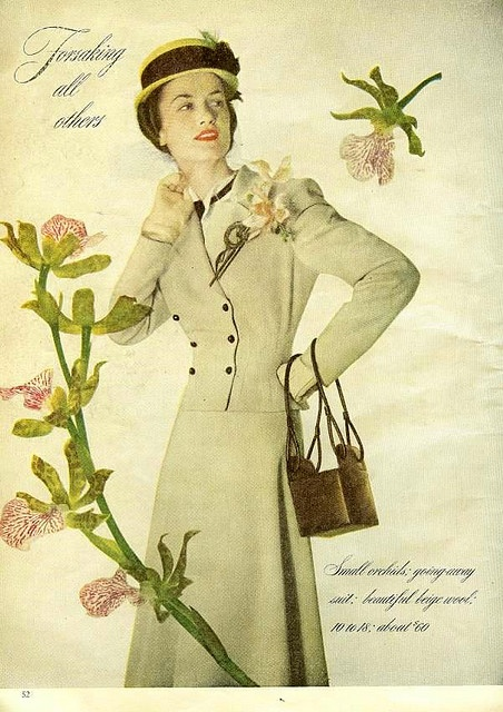 #vintage #fashion #clothing #1940s #forties #coats #style