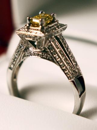 Beautiful engagement ring...