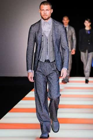 Giorgio Armani Fall/Winter 2012 #mfw