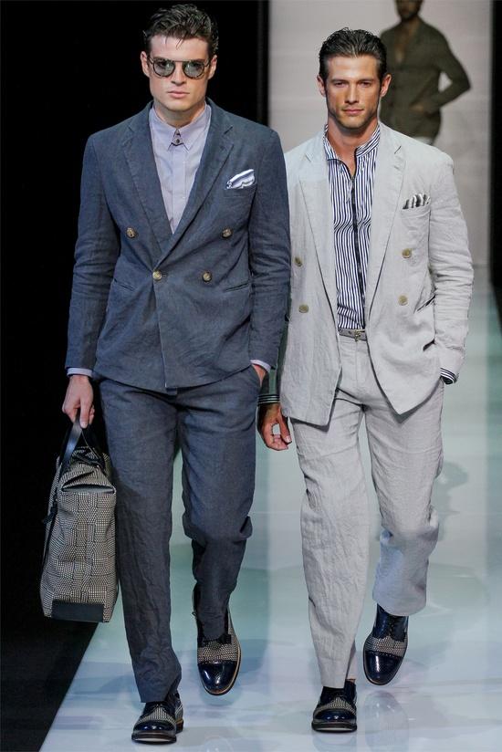 Giorgio Armani - Men Fashion Spring Summer 2013 - Shows