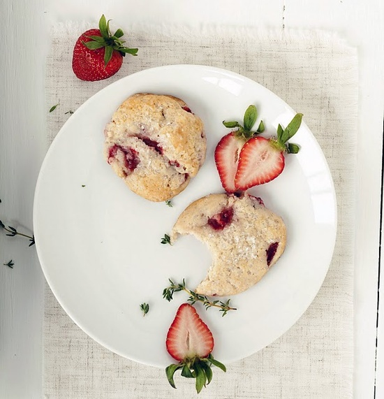 stawberry shortcake cookies.