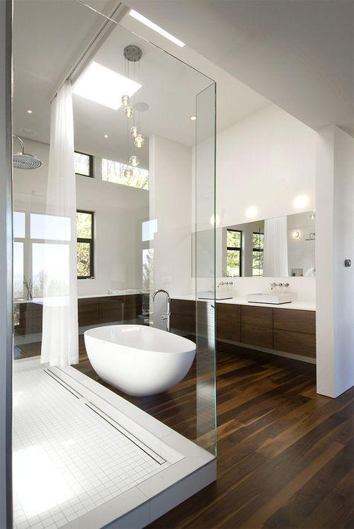 Modern bathroom in Salt Lake City