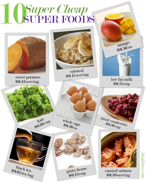 10 Cheap Super Foods