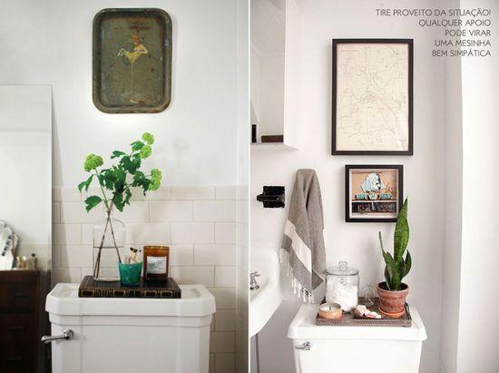 Place accessories in the bathroom. #decor #interior #design #bathroom #casadevalentina